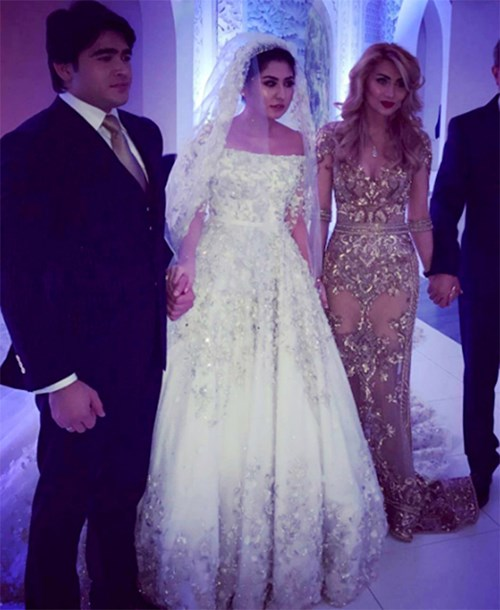 Ái nữ tỉ phú diện váy cưới nạm ngọc giá 14 tỉ đồng - 3