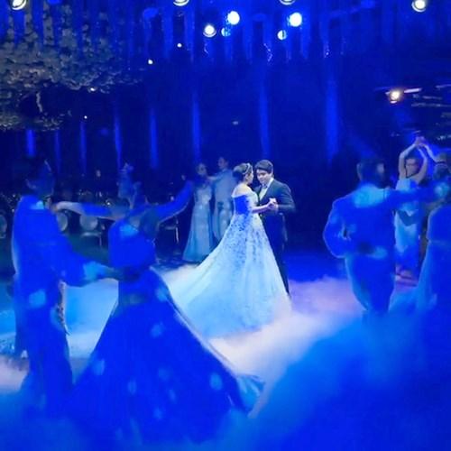 Ái nữ tỉ phú diện váy cưới nạm ngọc giá 14 tỉ đồng - 6