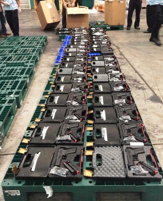 Tịch thu 94 khẩu súng tại sân bay Tân Sơn Nhất - 2