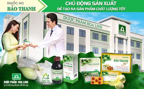 Thuốc ho Bảo Thanh - Chủ động sản xuất để tạo ra sản phẩm chất lượng tốt - 1