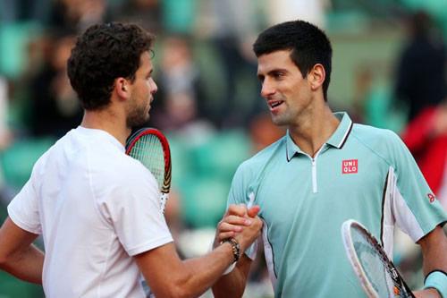 Paris Masters ngày 4: Djokovic không được phép sai lầm - 1