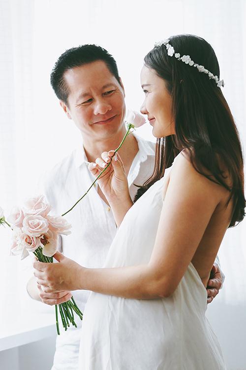 Phan Như Thảo sinh con gái cho chồng đại gia - 1
