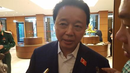 Bộ trưởng Môi trường nói về xử lý trách nhiệm vụ Formosa - 1