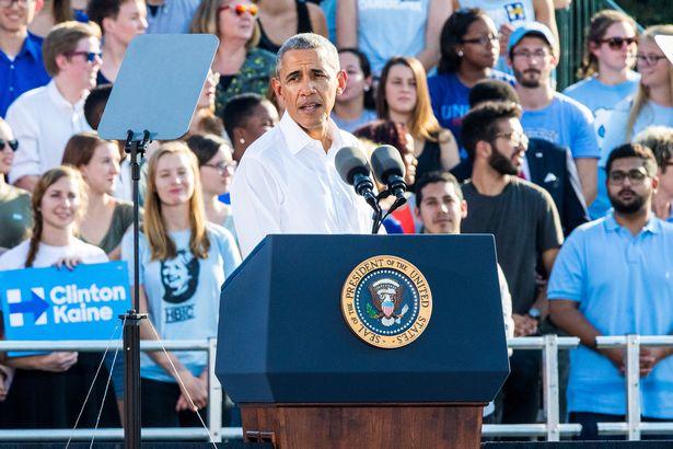 Obama: Vận mệnh thế giới bị đe dọa nếu Trump thắng - 1