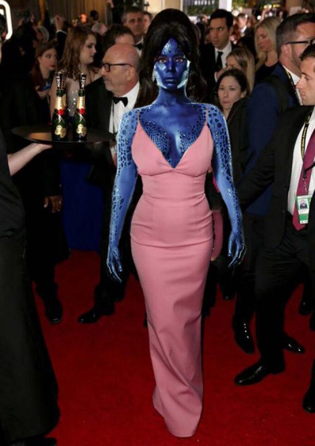 Biến thành màn cosplay dị nhân trong phim X-Men.