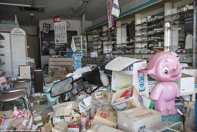 Thâm nhập khu vực thảm họa hạt nhân Fukushima sau 5 năm - 5