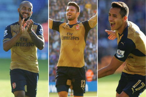 Giroud thăng hoa cùng Arsenal: Khi gỗ hóa vàng - 3
