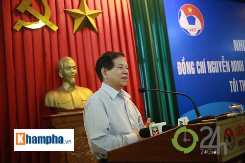 Nguyên Chủ tịch nước Nguyễn Minh Triết khen HLV Tuấn là ngôi sao mới - 5