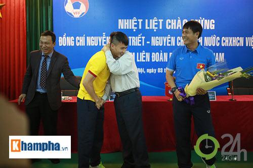 Nguyên Chủ tịch nước Nguyễn Minh Triết khen HLV Tuấn là ngôi sao mới - 9