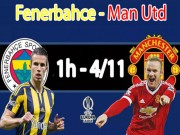 Fenerbahce - MU: Mourinho trao cơ hội cho Mkhitaryan (Europa League)