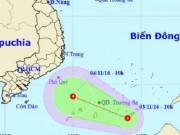Tin tức trong ngày - Xuất hiện áp thấp nhiệt đới mạnh cấp 6 trên quần đảo Trường Sa