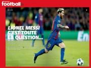 Bóng đá - Messi khó giành QBV: Trốn thuế và vết thương Argentina