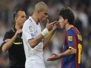 Bóng đá - Khi Messi nổi nóng: Chửi bới, nắm cổ và đấm nguội