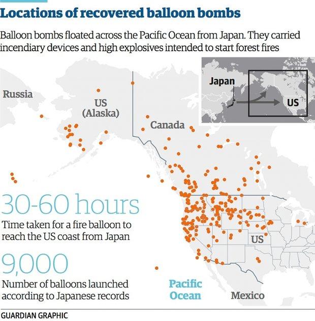 Chiến dịch oanh tạc Mỹ bằng 9.000 khí cầu mang thuốc nổ - 2