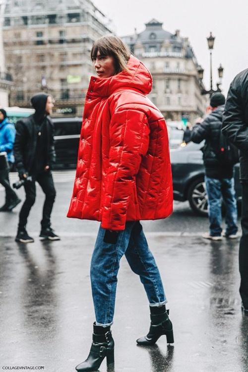 Kiểu áo khoác này không biến bạn thành gấu đâu mà sợ! - 2