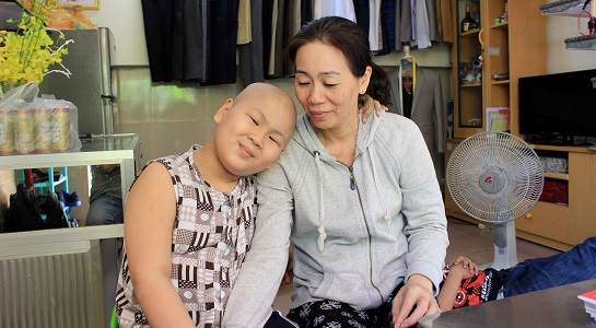 Cậu bé ung thư mơ làm CSGT: Xót lòng góa phụ mất con - 3