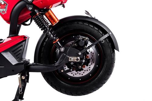 Sức mạnh đáng nể của xe điện HKbike Crazy Bull - 3