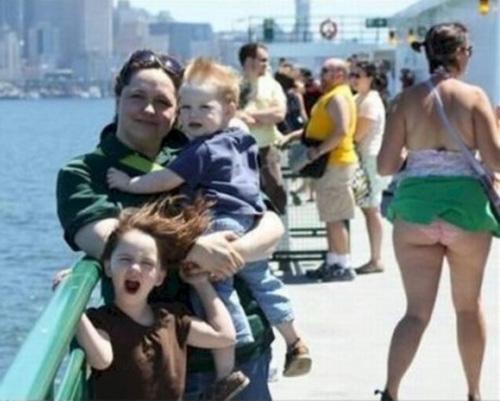 Chết cười với những người bất ngờ lọt vào bức ảnh - 2