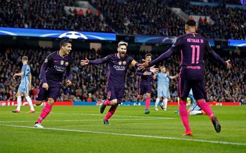 Barca phụ thuộc Messi–Suarez–Neymar: Con dao 2 lưỡi - 1