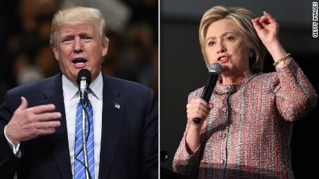 Phe Dân chủ lo lắng khi Trump bám đuổi sít sao Clinton - 1