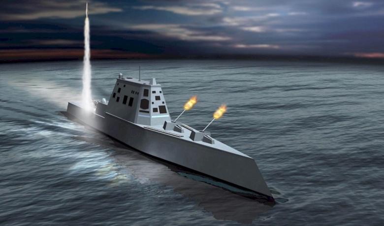 So tài tàu khu trục mạnh nhất TQ với siêu hạm Zumwalt Mỹ - 1