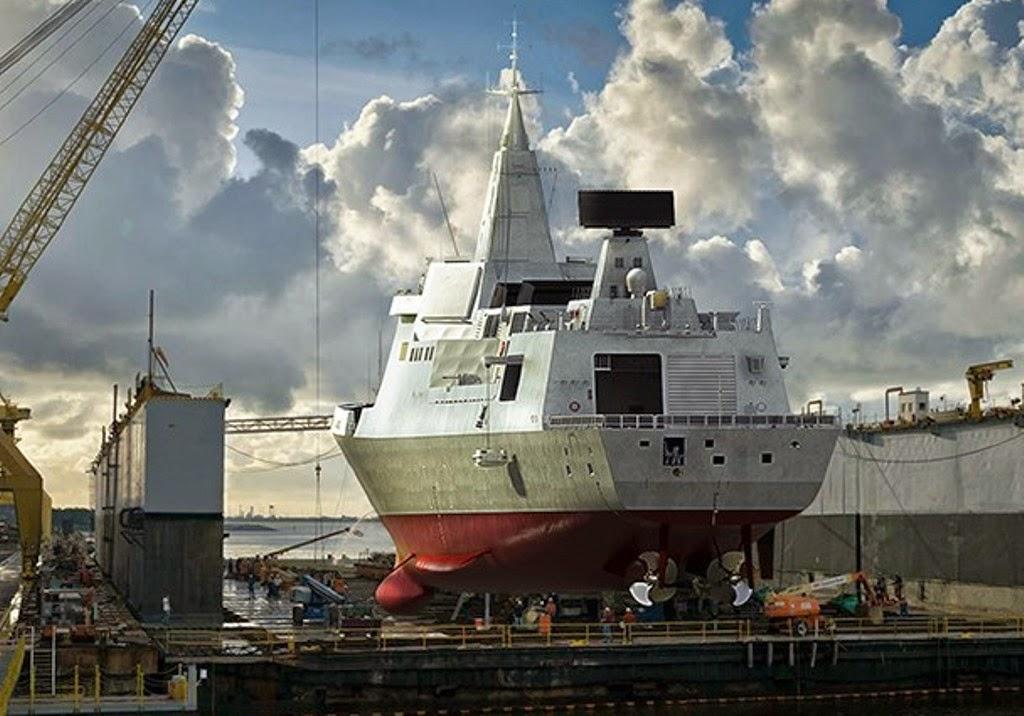 So tài tàu khu trục mạnh nhất TQ với siêu hạm Zumwalt Mỹ - 2