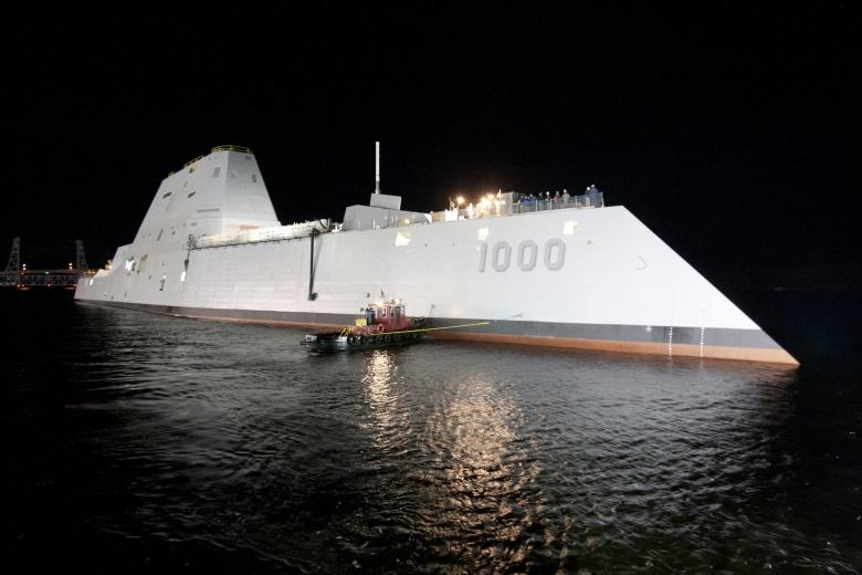 So tài tàu khu trục mạnh nhất TQ với siêu hạm Zumwalt Mỹ - 3