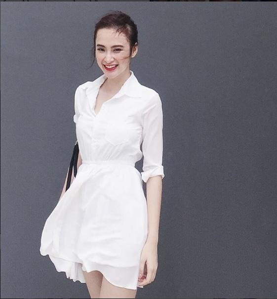 Mặc đồ bình dân, Angela Phương Trinh vẫn sexy khó cưỡng - 6