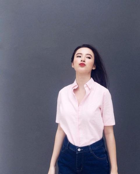 Mặc đồ bình dân, Angela Phương Trinh vẫn sexy khó cưỡng - 8