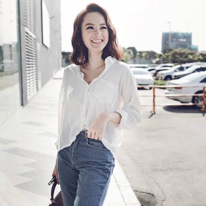 Mặc đồ bình dân, Angela Phương Trinh vẫn sexy khó cưỡng - 9