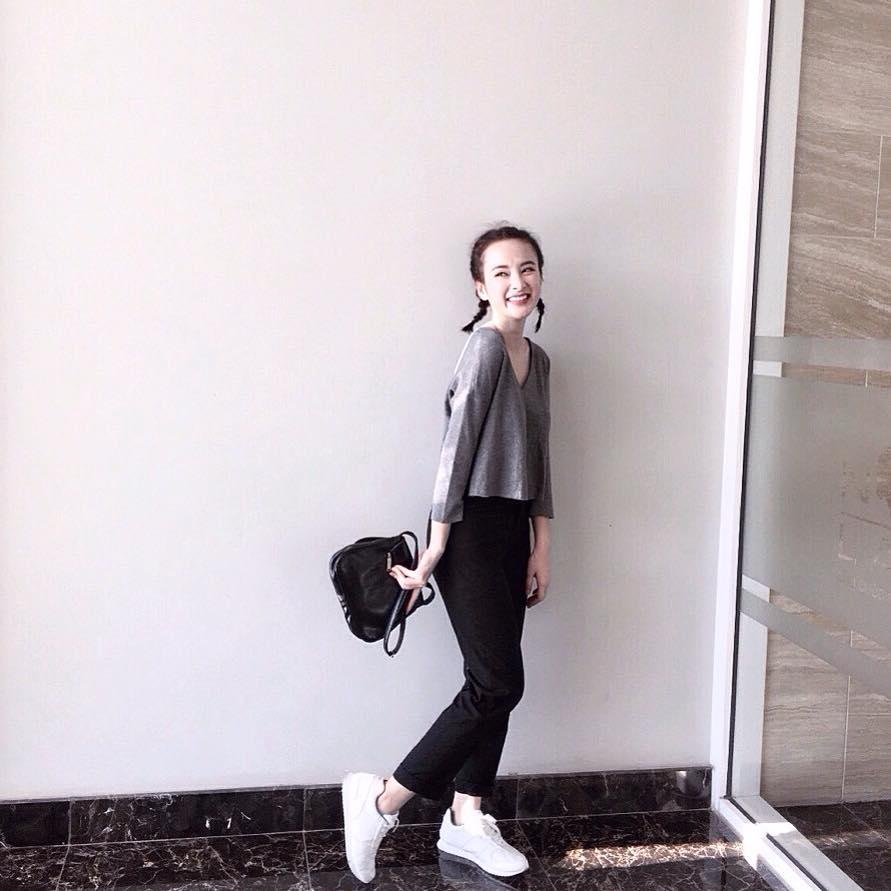 Mặc đồ bình dân, Angela Phương Trinh vẫn sexy khó cưỡng - 11