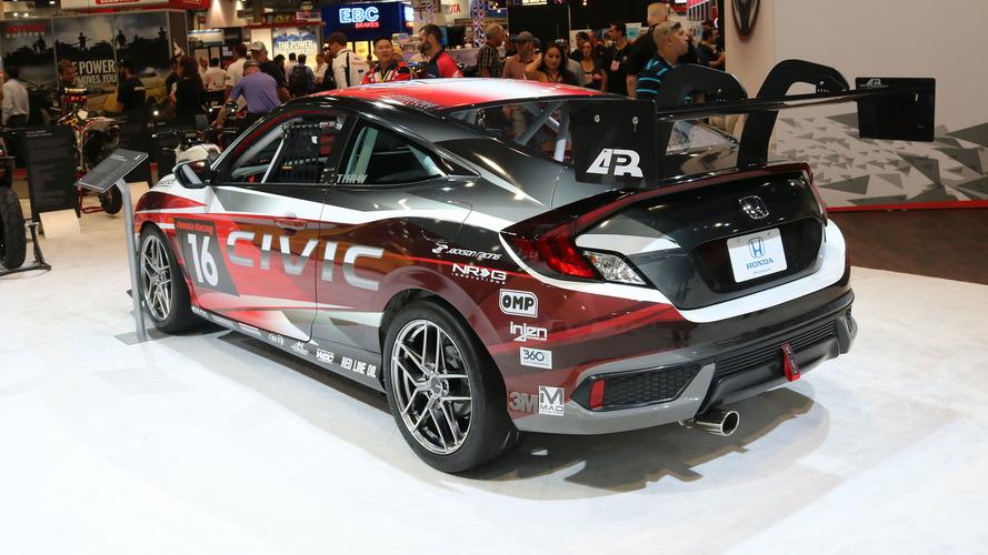"""Những mẫu xe độ cực """"hot"""" của Honda tại SEMA 2016 - 2"""