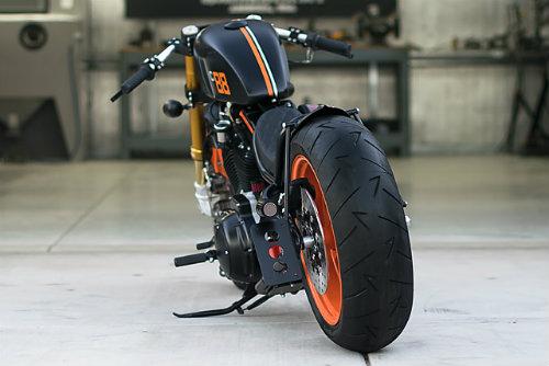 Mê mẩn xế độ 2001 Harley Davidson Sportster-DP Customs - 4