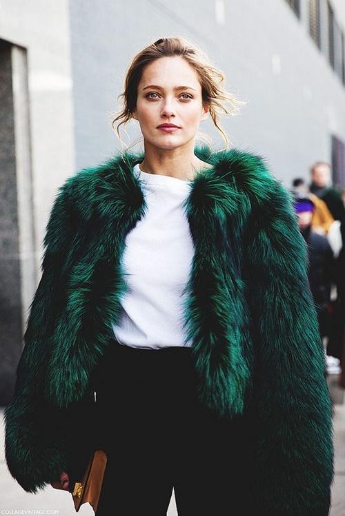 5 cách mặc áo khoác lông sexy hơn ngày chớm đông - 6