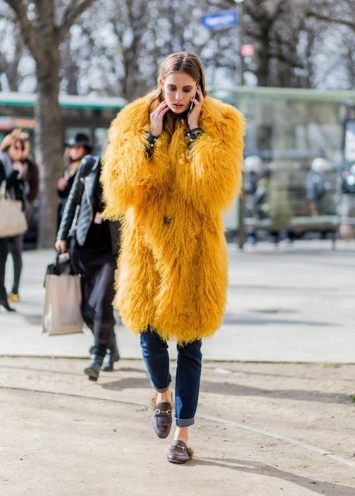5 cách mặc áo khoác lông sexy hơn ngày chớm đông - 11