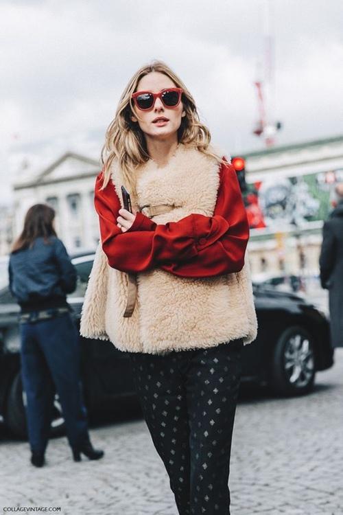 5 cách mặc áo khoác lông sexy hơn ngày chớm đông - 8