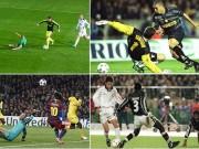 """Bóng đá - Ozil đọ siêu phẩm C1 với Messi, Ro """"béo"""", Maradona"""