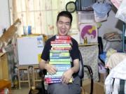 Bạn trẻ - Cuộc sống - Chàng trai TQ bị bại não vẫn tốt nghiệp thạc sỹ