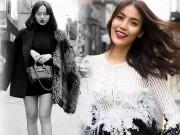 Thời trang - Lan Khuê mặc xuyên thấu, Mai Ngô lộ đùi to, mắt hí ở Hàn