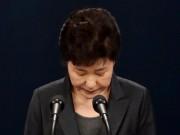 Thế giới - Tổng thống HQ khóc xin lỗi dân về bê bối chính trị