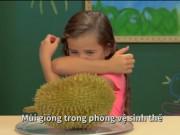 Video Clip Cười - Trẻ em sốc khi lần đầu thử ăn quả sầu riêng