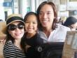 Việt Hương vỡ oà hạnh phúc khi gặp lại chồng và con gái