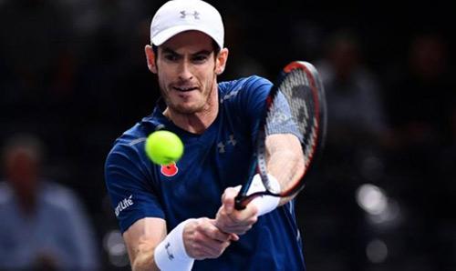 Paris Masters ngày 6: Murray, Isner vào chung kết - 3