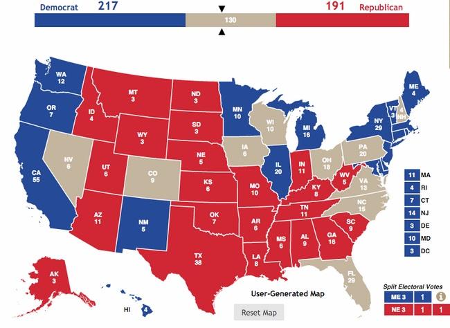 Bang chiến địa – nơi quyết định ai là tân tổng thống Mỹ - 2