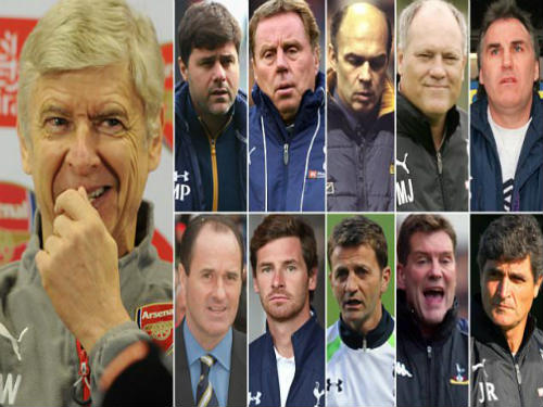 "Arsenal: Wenger & ""giai thoại"" đấu 11 HLV Tottenham - 1"