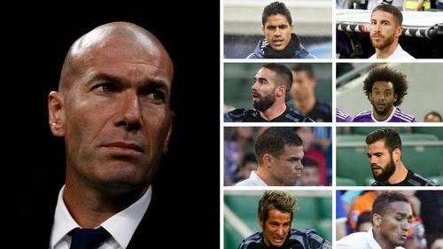 Real Madrid & bão chấn thương: 16 trận, 11 hàng thủ - 2