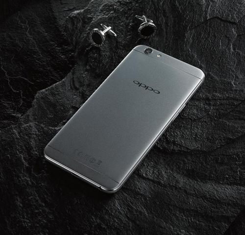 Ra mắt Oppo F1s màu xám đen phiên bản giới hạn - 2