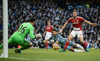 Chi tiết Man City - Middlesbrough: Bàn gỡ hòa muộn (KT) - 3