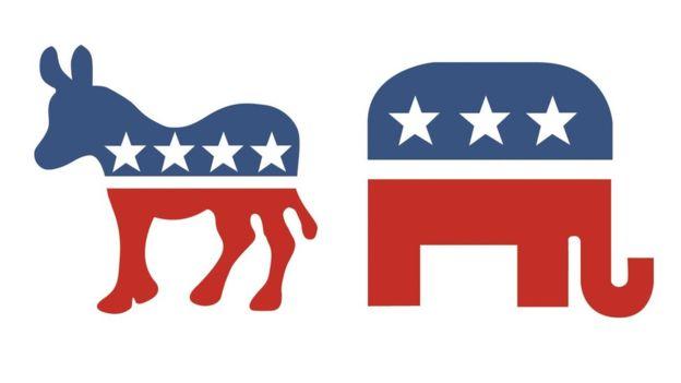 Vì sao voi và lừa là biểu tượng của 2 đảng lớn nhất Mỹ? - 1