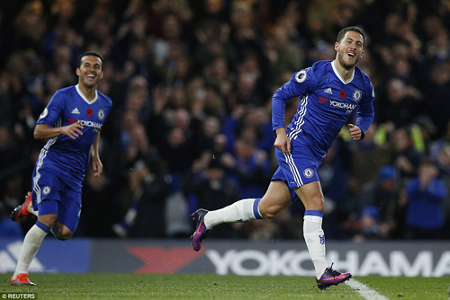 Chelsea: Hazard 10 điểm tuyệt đối, trận đấu để đời - 1